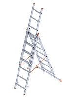 Лестница 3-х секционная (тип А) в Атырау 3x15 ступень(3x409=1227 см)