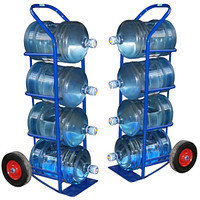 Тележка для перевозки 4-х бутылей с водой ВД-4, фото 1