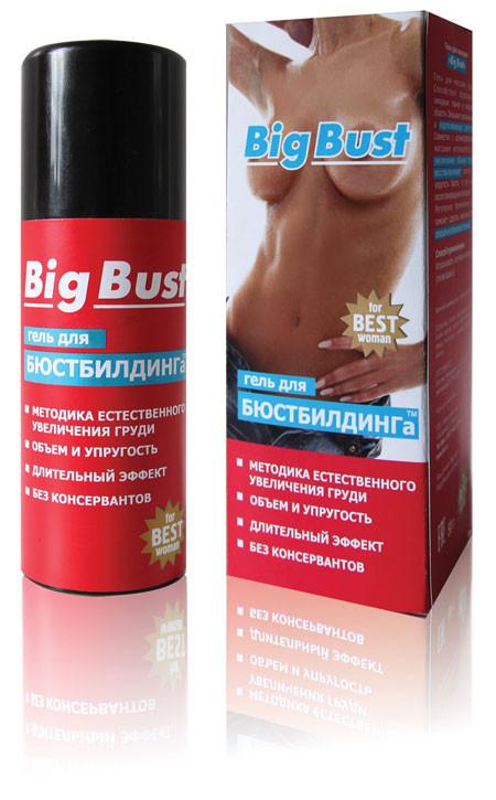 """Гель для увеличения груди (бюстбилдинг) """"Big Bust"""", 50 гр"""