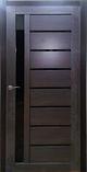 Межкомнатная дверь из экошпона Вертикаль венге,серый, фото 2