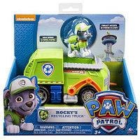 Игрушка Paw Patrol Щенячий патруль Машинка спасателя и щенок (Рокки), фото 1