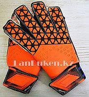 Перчатки вратарские футбольные GF00357 Оранжевый