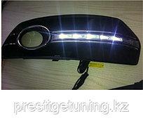 Рамки в бампер с ходовыми огнями LED DRL на Audi Q5