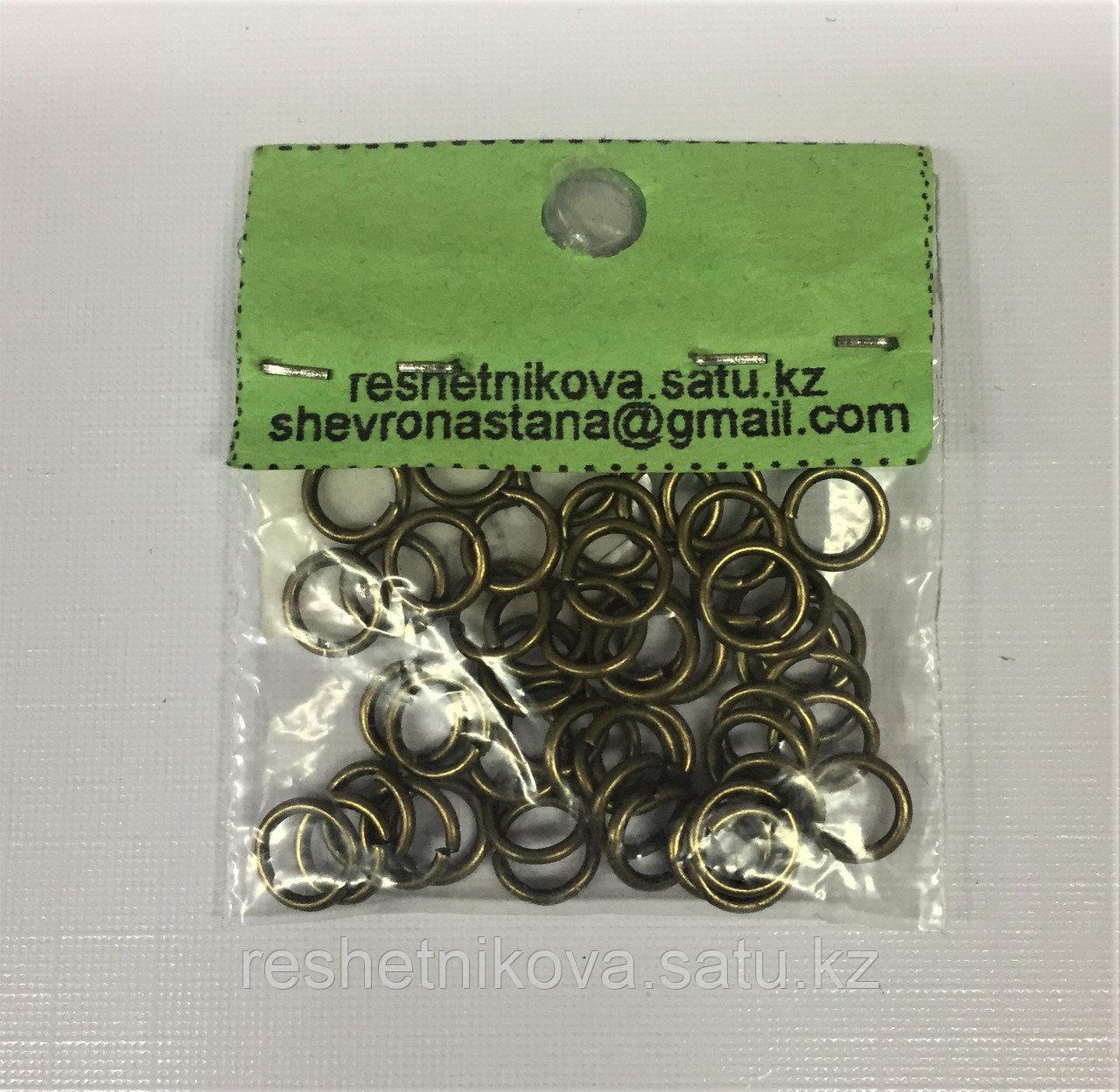 Кольцо соеденительное  6,5/0,9 мм (50 шт.)