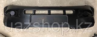 Накладка  переднего бампера  Патриот до 2014 года