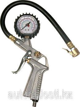 Манометр для шин с гибким шлангом