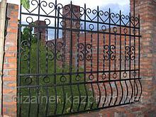 Заборы и ворота - из МЕТАЛА в Астане.