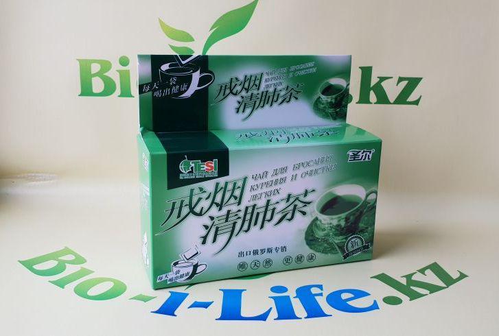 Чай для бросания курения и очистки легких