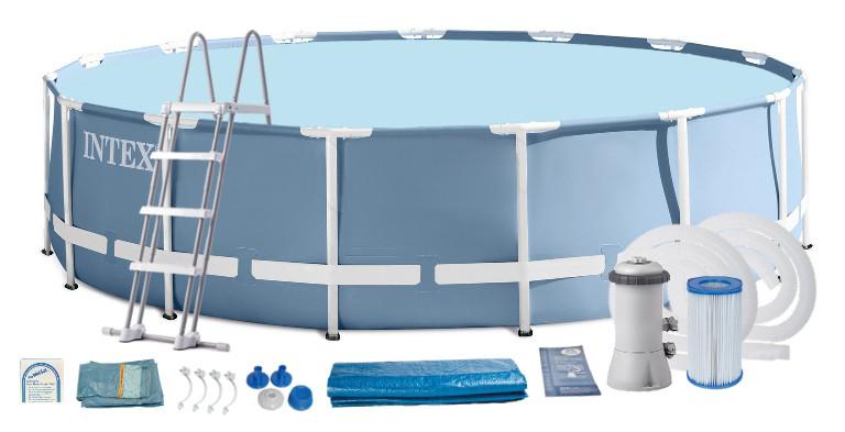 Intex каркасный бассейн 457Х122 см 26736