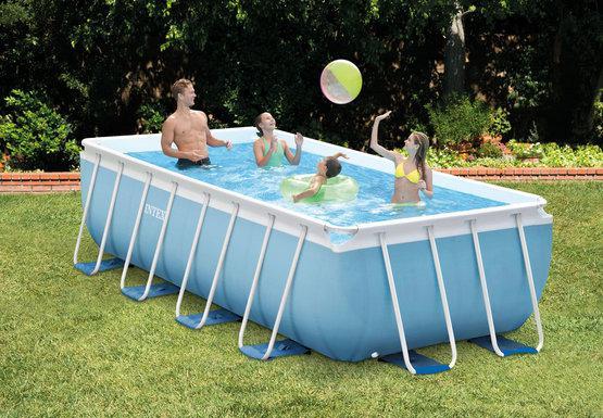 Intex бассейн каркасный 400х200х100 см 26776