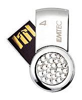 Флешка USB Emtec 2 Gb ( Со стразами )