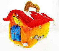 Мягкая Игрушка Корзинка-домик новогодний, фото 1