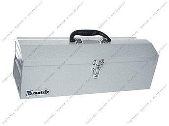(906025) Ящик для инструмента, 484 х 154 х 165 мм, металлический// ящик MATRIX