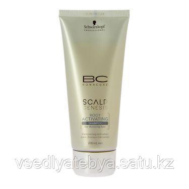 Schwarzkopf BC Scalp Genesis Активирующий шампунь для роста волос , 200 мл