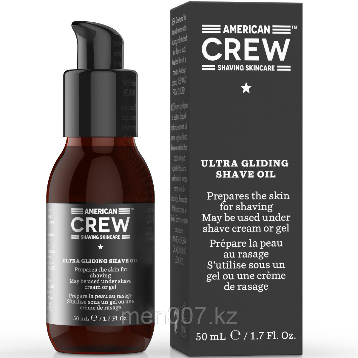 American Crew Ultra Gliding shave oil (масло для бритья)