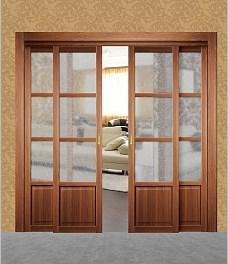Раздвижной синхронный-механизм Morelli, для межкомнатных дверей