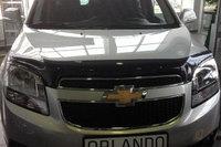 Мухобойка (дефлектор капота) на Chevrolet Orlando/Шевроле Орландо, фото 1