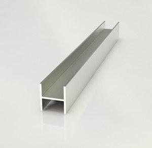 Планка соединительная для фартука СТ-16 матовая 6мм (Н-образный профиль), фото 2