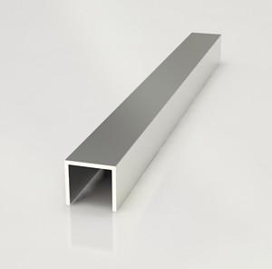 Планка торцевая для фартука СТ-36 матовая 6мм (П-образный профиль)