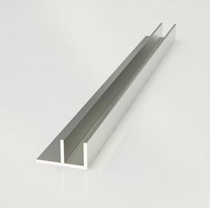 Планка угловая для фартука СТ-26 матовая 6мм (F-образный профиль)