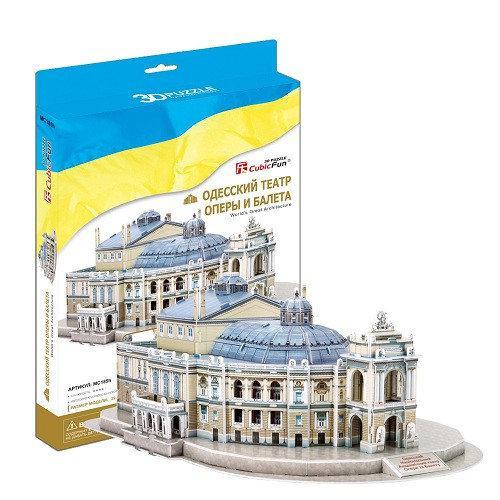 CubiFun 3D Одесский театр оперы и балета. Украина