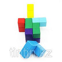 Деревянный кубик-тетрис (Кубик Никитина), фото 3