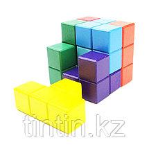 Деревянный кубик-тетрис (Кубик Никитина), фото 2