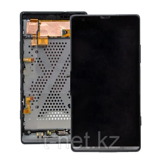 Дисплей Sony Xperia SP C5303 , с сенсором, цвет черный