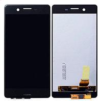 Дисплей Sony Xperia X F5121 , с сенсором, цвет черный