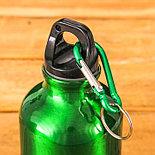 "Бутылка для воды ""Заряжена на успех"", 400 мл , фото 2"