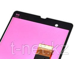 Дисплей Sony Xperia Z LT36, с сенсором, цвет черный