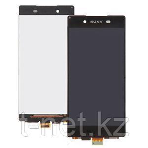 Дисплей Sony Xperia Z3+ Dual SIM E6553/E6533 , с сенсором, цвет черный