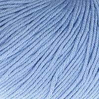 Пряжа 'Baby Cotton' 60 хлопок, 40 полиакрил 165м/50гр (3423 голубой) (комплект из 5 шт.)