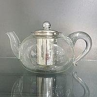 Чайник стеклянный огнеупорный 1,2 литра