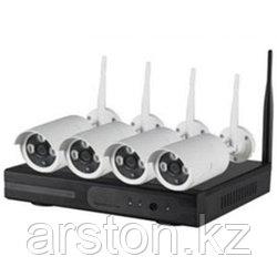 Комплект видеонаблюдения wi-fi kit 4к