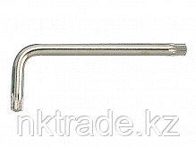 Ключ торцевой L-образный Torx с отверстием  (Т-10  - Т-50)
