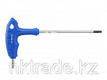 Ключ торцевой L-образный Torx с отверстием длин. (Т-10 - Т-40)