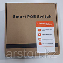 POE Smart Switch 4+2 Port, фото 3