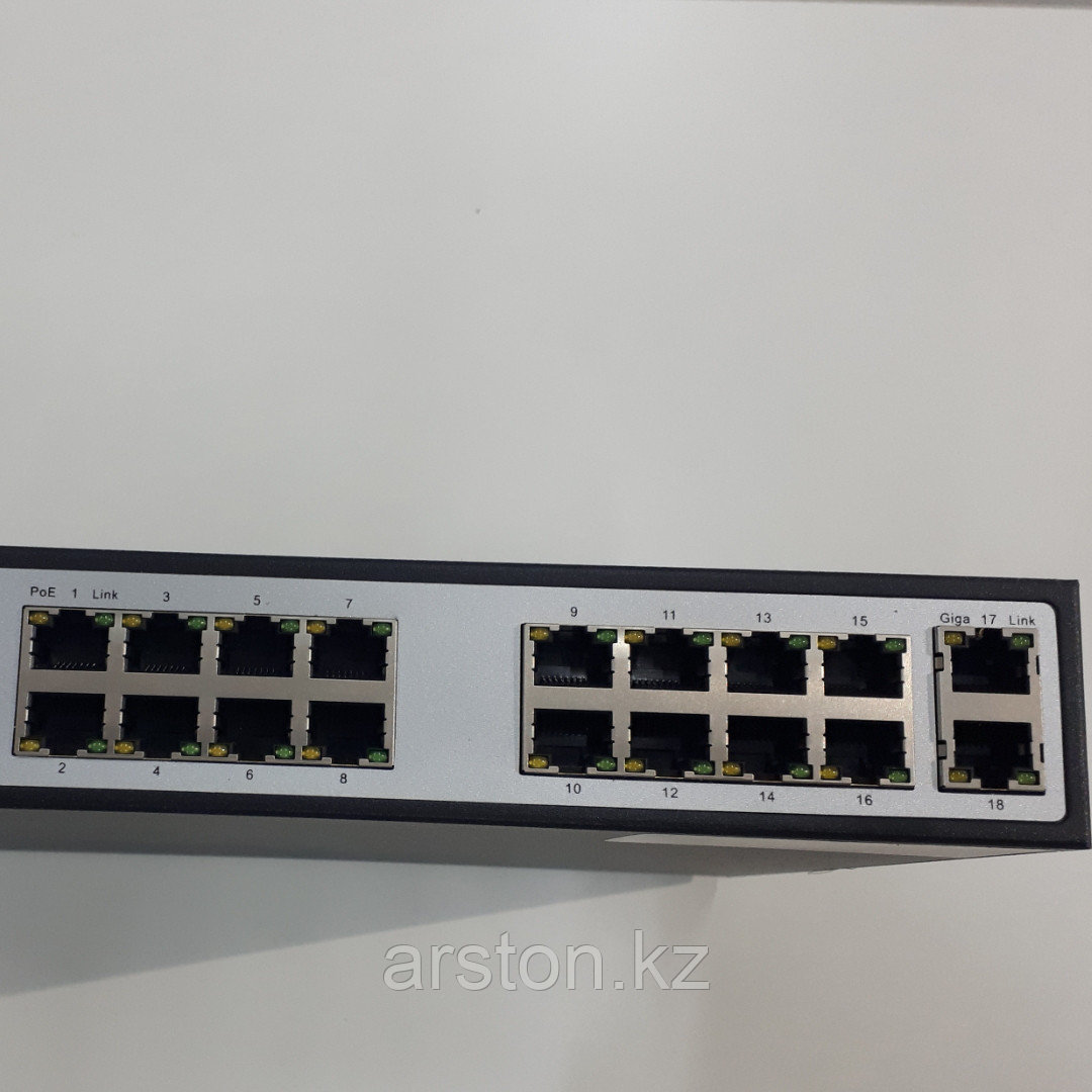 POE Smart Switch 16+2 PORT