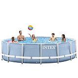 Каркасный сборный бассейн Intex Metal Frame Pool. 457х122см., фото 6