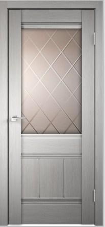 Межкомнатная дверь из экошпона Прима белая ДО и ДГ