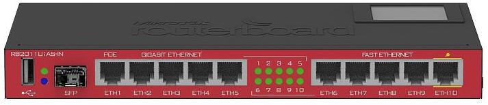 MikroTik RouterBOARD 2011UiAS-IN