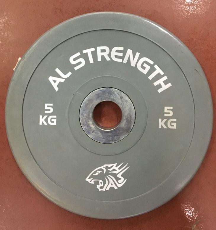 Соревновательные блины для штанги олимпийские AL STRENGTH 10 кг