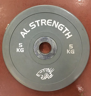 Соревновательные блины для штанги олимпийские AL STRENGTH 10 кг, фото 2