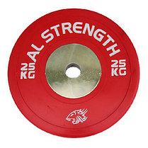 Соревновательный блины для штанги AL STRENGTH 25 кг, фото 2