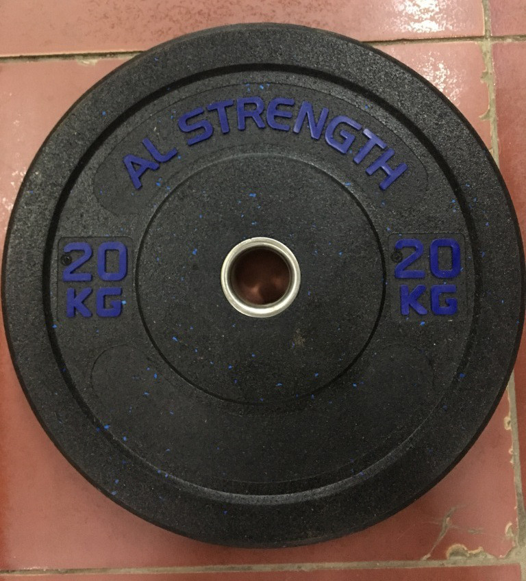 Бамперные блины для штанги AL STRENGTH 20 кг