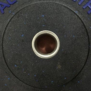 Бамперные блины для штанги AL STRENGTH 20 кг, фото 2