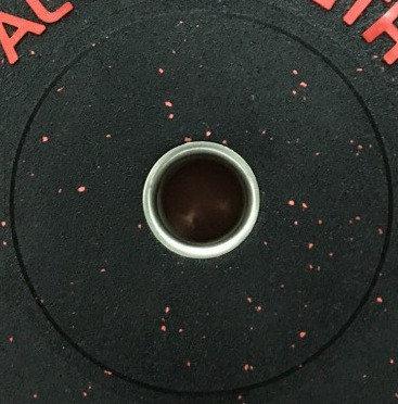 Бамперные блины для штанги AL STRENGTH 25 кг, фото 2