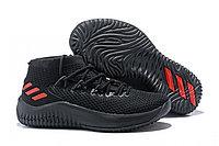 Кроссовки баскетбольные Adidas Dame 4 Low Black Red