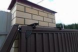 Сдвижные ворота стандарт металлические, фото 2